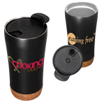 16 OZ. SS Double Wall Vacuum Tumbler With Cork Base