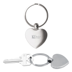 Heart Metal Key Chain
