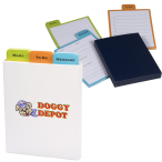 "Three Message Sticky Pad Set - 3""w x 3.5""w x 1"" d"