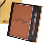 Naples™ Metallic-Trim Journal & Pen Gift Set