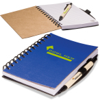 "Eco Easy Notebook/Pen Combo - 5""w x 7""h x 0.5""d"