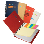 "Eco Mini-Sticky Book™ with Ruler - 4-1/4""w x 5""h x 5/8""d"