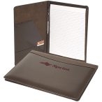 "Soho™ Leather Business Portfolio- 9.63""w x 12.5""h x .88""d"