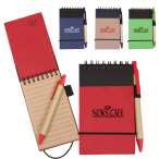 "Eco Recycled Jotter - 3"" w x 5"" h x .25"" d"