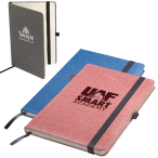 "Bound Strand™ Snow Canvas Journal - 5.5"" w x 8.27"" h x .5"" d"