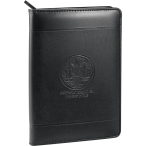 "Windsor Impressions Jr. Zippered Padfolio - 9.44"" H X 0.77"" W X 6.29"" D"