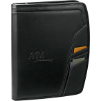 "Precision Zippered Padfolio - 12.75"" H X 1"" W X 10"" D"