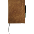 "Field & Co.® Cambridge Refillable Notebook - 10"" H X 1"" W X 7"" D"