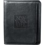 "Manhattan Zippered Padfolio - 13"" H X 1.25"" W X 10.5"" D"