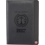 "Wenger® Executive Refillable Notebook - 10.37"" H X 7.62"" D"