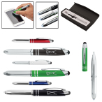 Metal Pen/Stylus With Light