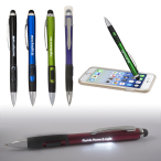 Light Up Your Logo Pen/Stylus With Matte Finish