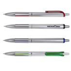 Jangle Silver Click Pen