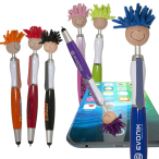 Multi Culture Moptopper™ Screen Cleaner With Stylus Pen(Tan Skin Color)