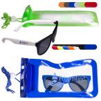 Matte Fashion Sunglasses & Water-Resistant Bag