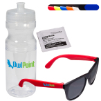 Sunglasses & Lens Cleaning Wipe in 24 oz. Sports Bottle