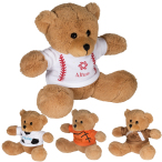 "7"" GameTime® Plush Bear Stuffed Animal"