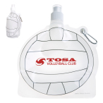 HydroPouch™ Volleyball Collapsible Water Bottle -  24 oz.