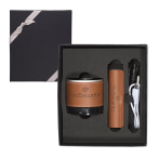Tuscany™ Bluetooth® Speaker & Cylinder Power Bank Gift Set