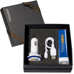 Econo Power Bank & Car Charger Set