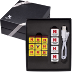 Rubik's® Mobile Charger Power & Cube Set