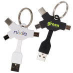 Multi USB Cable Key Chain
