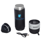 Bluetooth Speaker Vacuum Water Bottle - 13 oz.