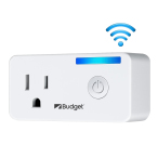 Custom Wi-Fi Smart Plug, Wireless Smart Home Power Remote Control Socket Outlet Compatible with Alexa & Google Home - US Version
