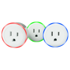Branded Wi-Fi Smart Plug with LED Night Light, Wireless Smart Home Power Remote Control/Socket/Outlet Compatible with Alexa & Google Home - US Version( ETL Certified)