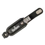 Magnetic Leather USB Drive 2 GB
