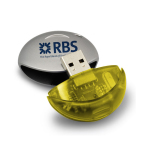 Cylindrical USB Drive 8GB