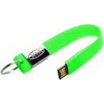Keychain Rubber USB Drive 1 GB