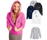 Gildan® Heavy Blend™ Ladies Full Zip Hooded Sweatshirt - 8 oz.