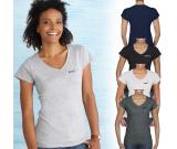 Gildan® Softstyle® Ladies V-Neck T-Shirt - 4.5 oz.