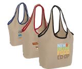 "Soft Touch Juco Shopper Bag - 17.5""w x 12.5""h x 6""d"