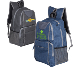"""Strand™ Snow Canvas Backpack - 11.75""""w x 17.5""""h x 6.5""""d"""