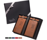 Tuscany™ Duo-Textured Luggage Tags Gift Set
