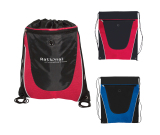 "Tonal Mesh Drawstring Backpack - 14"" W x 7.25"" H"