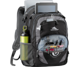 "High Sierra Overtime Fly-By 17"" Computer Backpack - 19.5"" H X 13"" W X 9.5"" D"