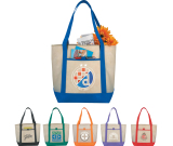 """Lighthouse Non-Woven Boat Tote - 13.5"""" H X 17.75"""" W X 6"""" D"""