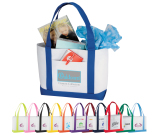 """Large Boat Tote - 11.25"""" H X 18"""" W X 3.75"""" D"""