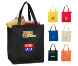 """Hercules Insulated Grocery Tote - 15"""" H X 13"""" W X 9"""" D"""