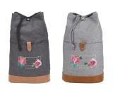 """Field & Co. Campster Drawstring Rucksack - 18"""" H X 6"""" W"""