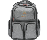 "Cutter & Buck Executive Backpack - 18"" H X 7"" W X 12"" D"
