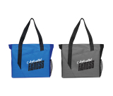 "Slash Zippered Meeting Tote - 15.75"" H X 4"" W X 13.75"" D"