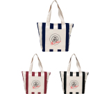 "Chandler 12oz Cotton Canvas Zippered Tote - 14"" H X 7"" W X 20"" D"