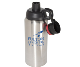 Double Wall Stainless Steel Vacuum Bottle - 33 oz.