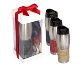Casablanca™ Tumbler & Ghirardelli® Cocoa Gift Set - 16 oz.