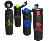 16 Oz. Legacy Black Matte Vacuum Bottle
