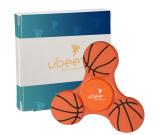 GameTime™ Spinner - Basketball with Custom Box